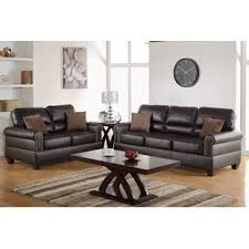 Brown sofa sets Chair Quickview Futonland Living Room Sets Youll Love Wayfair