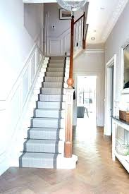 stair rug runner ideas carpet stairs carpeted staircase before painted hardware