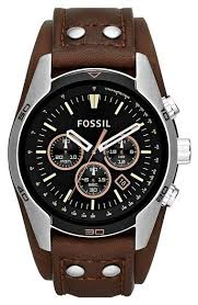 17 best ideas about fossil watches fossil gold fossil men s sport chronograph brown leather double pad strap watch men s watches jewelry watches macy s