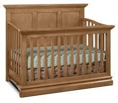 dwell baby furniture. Cameron Convertible Panel Crib - Cashew Dwell Baby Furniture