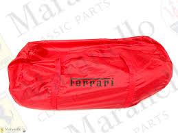 Oem ferrari f12 red indoor car cover w/ mirror pockets + logos. Ferrari Part 70003435 Showroom Car Cover Red Maranello Classic Parts