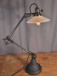 vintage looking lighting. Vintage Industrial Style Desk Lamp - Thumbnail 3 Looking Lighting N