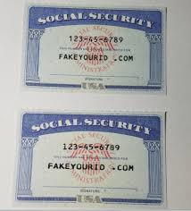 Id Ids Social Buy Make We Premium Scannable Security - Fake Card