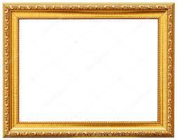wood vintage frame isolated on white wood frame simple design stock photo