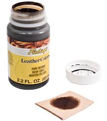 fiebing u0027s 2 2 fl oz leathercolors leathercraft dye dark brown