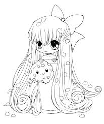 People Coloring Sheets Cute People Coloring Pages Anime Girl