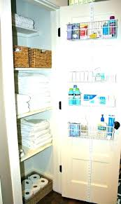 organizing bathroom closet ideas organization best linen closets ikea