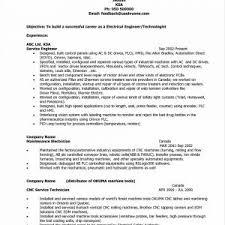 Service Tech Resume Resume Sample Maintenance Technician New Auto Service Technician