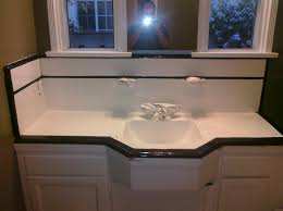 Refinish Bathroom Countertop Pkb Reglazing Countertop Reglazing