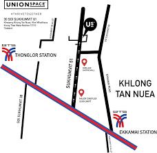 งาน หางาน สมัครงาน ทุกสาขาอาชีพ Unionspace Thailand 30 ซอยสุขุมวิท61 แขวง คลองเตยเหนือ เขตวัฒนา กรุงเทพ10110 แขวงคลองเตยเหนือ เขตวัฒนา กรุงเทพมหานคร  - jobbkk.com