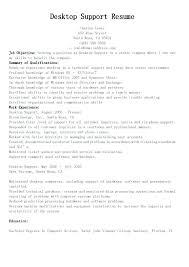 Desktop Support Specialist Resume Desktop Support Specialist Resume