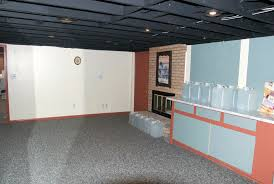 ideas ceiling paint bat flooring with laminate floor type and gray painted wall exposed wooden above