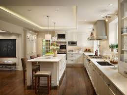elegant shallow wall cabinet kitchen traditional with tray ceiling glass shade