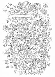 Easter mandala coloring page for adults. Easter Coloring Pages For Adults