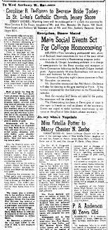 Marriage of Anthony W Bamonte and Caroline DeFonzo - Newspapers.com