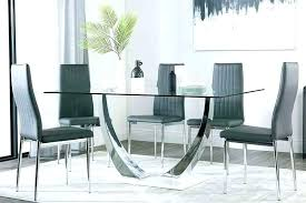glass dining sets 4 chairs dining glass table and chairs round glass dining table set glass