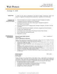 Management Resume Modern Modern Construction Management Graduate Resume Construction