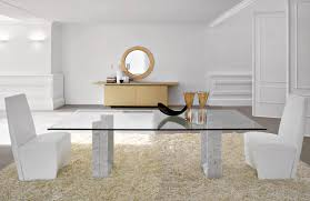 contemporary glass top dining tables modern glass dining room