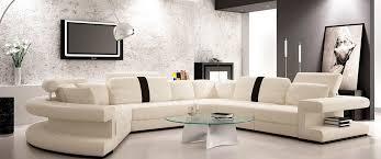 white leather sectional sofa. Perfect Sofa Modern White Leather Sectional Sofa VG123 And Leather Sectional Sofa T
