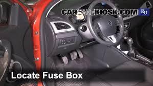 interior fuse box location 2009 2015 renault megane 2009 renault Renault Laguna 2012 locate interior fuse box and remove cover