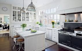 Modern Country Kitchen Picture Of Modern Country Kitchen Design With White Cabinet