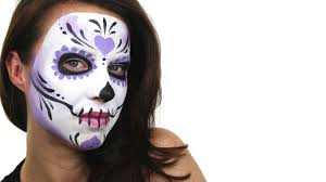 sugar skull face painting designs images ideas before