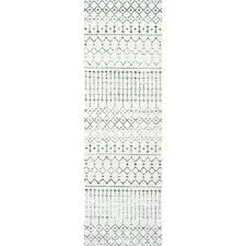 moroccan runner rug stylish geometric runner rug geometric beads grey runner rug x 8 fancy moroccan moroccan runner rug