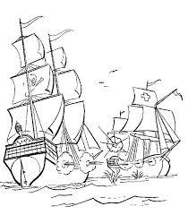 Kleurplaten Piratenschepen