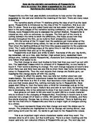 how do the stylistic conventions of pleasantville help to anchor page 1 zoom in
