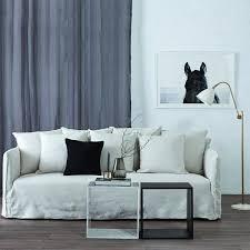 Modern Designer Bronte Winter White Italian Linen Sofa- Removable Slip  Cover | White slipcover sofa, Sofa design, White slipcovers