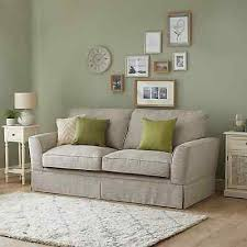 weybridge valance 3 seater sofa light