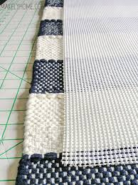 stylish extra long bath rug runner how to create a non slip bath mat from a cotton rug tack