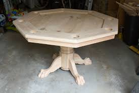 Wooden Game Table Plans Octagonal Game Table Home Design Ideas and Pictures 48