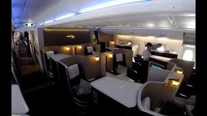 British Airways Flight 282 Seating Chart British Airways First Class On The A380 Full Flight Video Review Hd