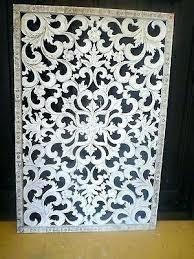 white wood wall art wooden medallion medallions large decor adorable wonderful decoration w