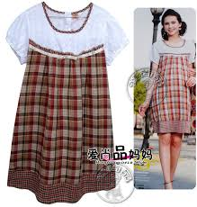 Maternity Dress Patterns Inspiration Super Quality Gingham Embroidery Hollowed Out Pattern Summer Short