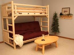 diy full size loft bed with futon