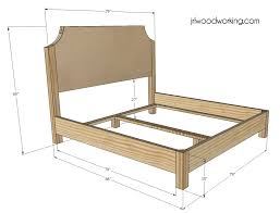 Incredible Queen Size Bed Frame Dimensions Queen Size Bed Frame