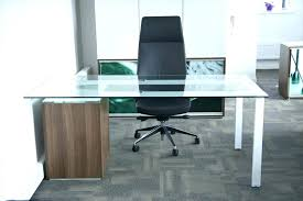 contemporary glass office furniture. White Glass Office Desk Contemporary Modern And Furniture H