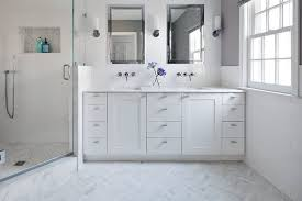 Patterned Bathroom Floor Tiles Inspiration 48 Bathroom Floors That Pull Off Pattern Wayfair
