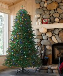 Park Hill Collections Blue Spruce 54Blue Spruce Pre Lit Christmas Tree