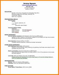 7 How To Do A Resume For A Job Resume Type