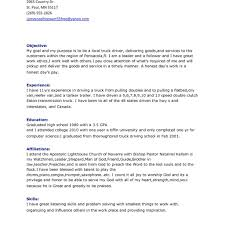 Resume For Driver Christmas Greetings Sample