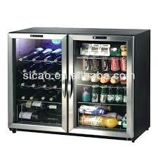 mini fridge glass door mini fridge glass door double glass door display fridge for beer soft