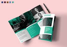 Trifold Brochure Examples 25 Word Tri Fold Brochure Templates Free