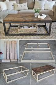 diy coffee table plans diy home decor
