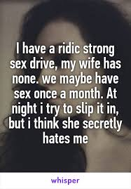 My wife hates sex with me