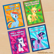 Small Picture FREE Printable My Little Pony Valentines Valentines Day