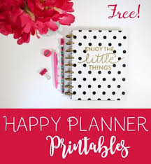 Free Online Monthly Planner Free Happy Planner Printables Customize Online Print At Home