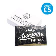 Buissness Cards 100 X Awesome Business Card Deal